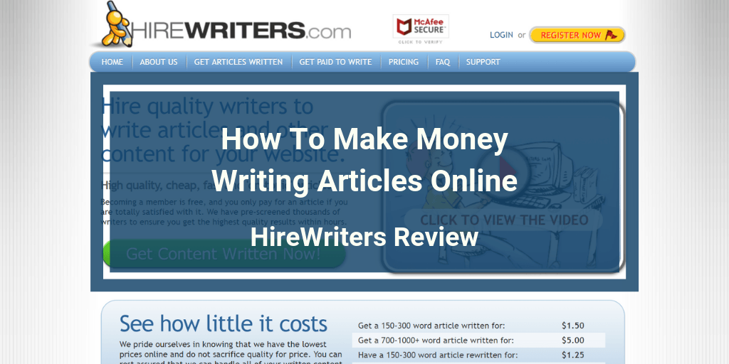 HireWriters Review