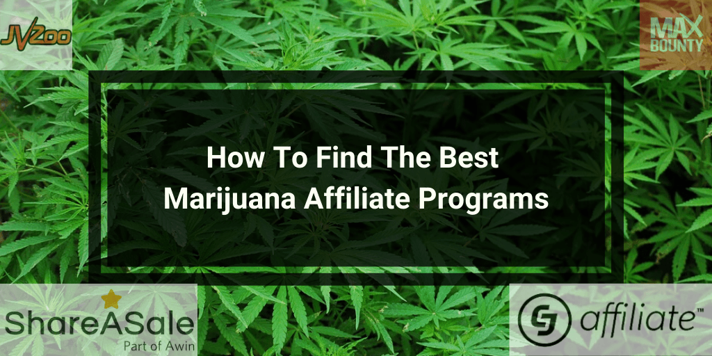 How To Find The Best Marijuana Affiliate Programs